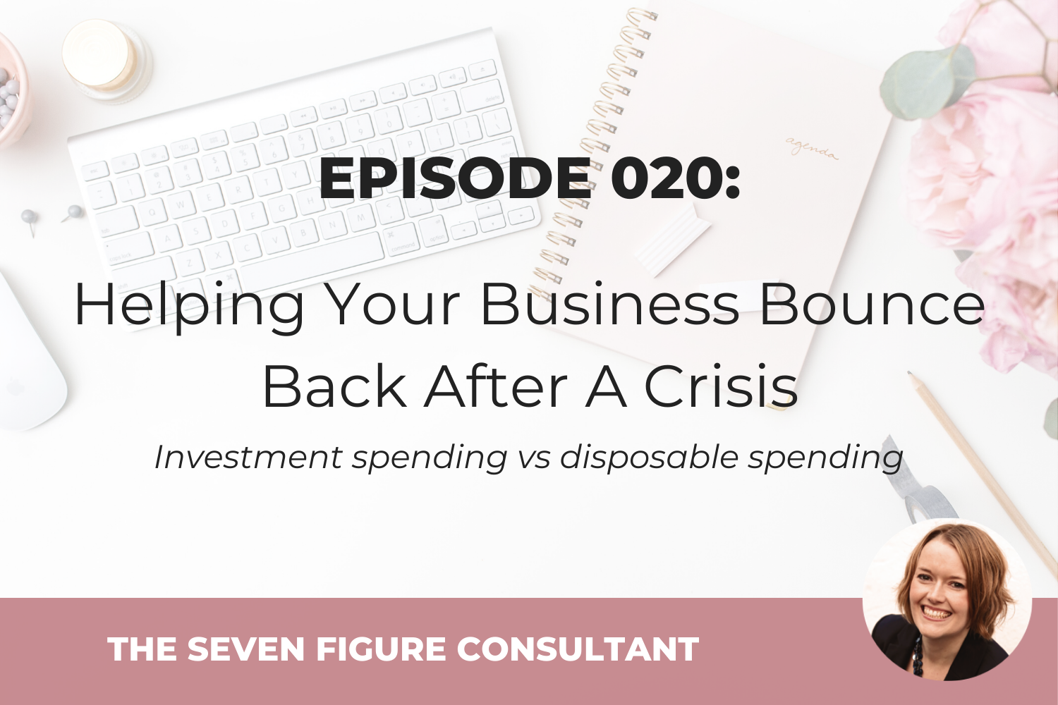 Episode 020: Helping Your Business Bounce Back After A Crisis – investment spending vs disposable spending